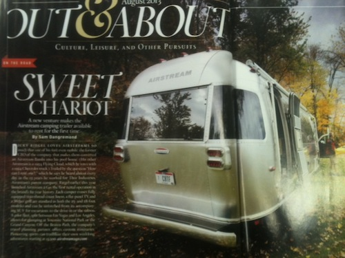 Town and Country RV Ad