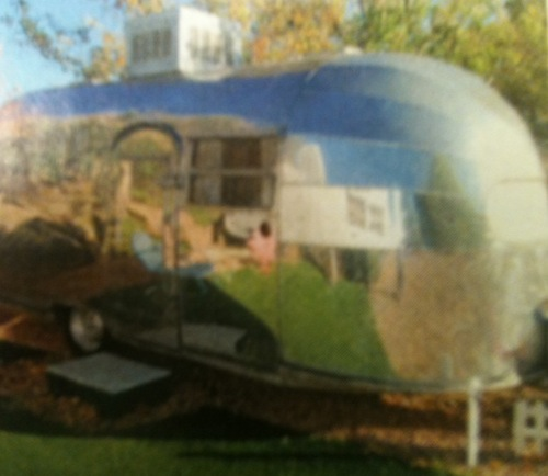 Rv Park Airstream Trailer
